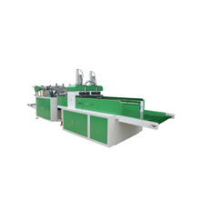 Automatic two channel hot cutting bag making machine