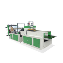 Fully Automatic Double Layers Four Lines Cold Cutting Bag Making Machine