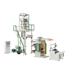 PE Blowing Film Flexographic Printing Line Machine