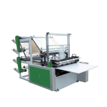 Double Layers Four Lines Cold Cutting Bag Making Machine
